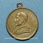 Münzen Vatican. Léon XIII (1878-1903). Commémoration du jubilé pontifical... 1883. Médaille laiton argenté