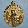 Münzen Vatican. Pie IX (1846-1878). Dévotion à Saint Michel des Saints. (1846). Médaille bronze