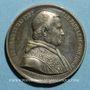 Münzen Vatican. Pie IX (1846-1878). Election du pape (1846). Médaille étain