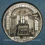 Münzen Vatican. Pie VI (1775-1799). Visite à Joseph de Lorraine, empereur (1780-1790). Méd. étain. 42,6 mm.