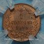 Münzen Italie. Umberto I (1878-1900). 1 centesimo 1895 R. Rome