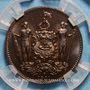 Münzen Nord Bornéo. Protectorat Britannique. 1 cent 1891 H. Birmingham