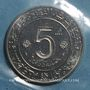 Münzen Algérie. République. 5 dinars 1974. Essai