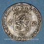 Münzen Antilles néerlandaises. Compagnie des Indes occidentales. 1/4 gulden 1794W. Utrecht