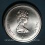 Münzen Canada. Elisabeth II (1952- /). 10 dollars 1974. J.O. Montréal. Temple de Zeus