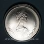Münzen Canada. Elisabeth II (1952- /). 10 dollars 1975. J.O. Montréal. Canoë