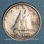 Münzen Canada. Georges VI (1936-1952). 10 cents 1945