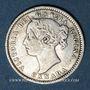 Münzen Canada. Victoria (1837-1901). 10 cents 1891