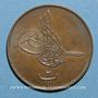 Münzen Egypte. Abdoul Aziz (1277-93H). 20 para, an 8 (= 1868)