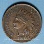 Münzen Etats Unis. 1 cent 1901