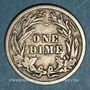 Münzen Etats Unis. Barber dime 1914