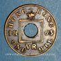 Münzen Hong Kong. Victoria (1837-1901). 1 mil 1863