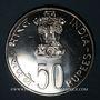 Münzen Inde. République. 50 roupies 1976 (B) Mumbai