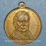 Münzen Guerre de 1870-1871. A. Thiers. Médaille bronze