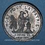 Münzen Guerre de 1870-1871. Mort du colonel A. Prévault. Médaille étain. 37,2 mm
