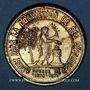 Münzen Guerre de 1870-1871. Mort du général Blaise. Médaille étain doré. 42,2 mm