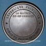 Münzen Guerre de 1870-1871. Siège de Paris. Mairie du IXe arrondissement. Médaille bronze. 69 mm