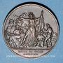 Münzen Guerre de 1870-1871. Siège de Paris. Médaille cuivre rouge. 33,9 mm
