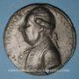 Münzen Révolution 1789. Necker. Médaille en plomb