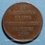 Münzen Révolution de 1848. Elections du département de la Seine. Médaille cuivre. 26 mm