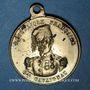 Münzen Révolution de 1848. Le général Cavaignac. Médaille cuivre jaune. 23,6 mm