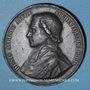 Münzen Révolution de 1848. Mort Mgr Affre, archevêque. Médaille plomb. 51 mm