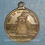 Münzen Révolution de 1848. Promulgation de la Constitution. Médaille cuivre jaune. 23,4 mm