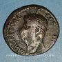 Münzen Agrippa († 12 av. J-C). As frappé sous Caligula. Rome, 37. Contremarqué : TI.C.A sous Claude