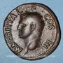 Münzen Agrippa († 12 av. J-C). As. Rome, 37. R/: Neptune