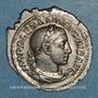 Münzen Alexandre Sévère (222-235). Denier. Rome, 232. R/: le Soleil