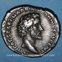 Münzen Antonin le Pieux (138-161). Denier. Rome, 138. R/: Diane