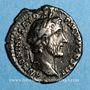 Münzen Antonin le Pieux (138-161). Denier. Rome, 143. R/: Victoire