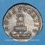 Münzen Antonin le Pieux (138-161). Denier. Rome, 161. Frappé sous Marc Aurèle. R/: bûcher