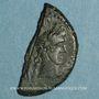 Münzen Auguste et Agrippa. As (= dupondius coupé). Nîmes, 16 - 10 avant J-C
