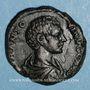 Münzen Caracalla, césar sous Septime Sévère (195-198). As. Rome, 196. R/: instruments sacerdotaux