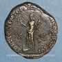 Münzen Commode (177-192). Sesterce. Rome, 189. R/: la Fortune