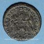 Münzen Constance II (337-361). Centenionalis. Siscia, 5e officine, 345-346. R/: deux Victoires