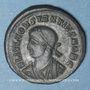 Münzen Constance II, césar (324-337). Centénionalis. Héraclée, 2e officine, 327-329. R/: porte de camp