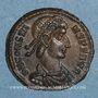 Münzen Constant (337-350). 1/4 maiorina (?). Siscia, 1ère officine. 348-350. R/: Phénix