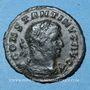 Münzen Constantin I (307-337). 1/4 follis. Trèves, 1ère officine, 310-311. R/: le Soleil. Inédit (?)