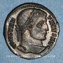 Münzen Constantin I (307-337). Centenionalis. Aquilée, 1ère off. 321. R/: VOT / XX  dans une couronne