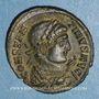 Münzen Constantin I (307-337). Centenionalis. Trèves, 2e officine, 322-323. R/: autel
