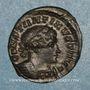 Münzen Constantin I (307-337). Follis. Londres. 1ère officine, 318. R/: Génie