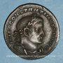 Münzen Constantin I (307-337). Follis. Lyon, 1ère officine, 308-309. R/: Mars