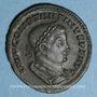Münzen Constantin I (307-337). Follis. Lyon, 1ère officine, 310-311. R/: le Soleil
