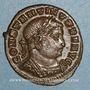Münzen Constantin I (307-337). Follis. Lyon, 1ère officine. 312. R/: le Soleil