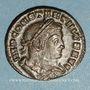 Münzen Constantin I (307-337). Follis. Lyon, 1ère officine, 313-314. R/: le Soleil