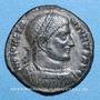 Münzen Constantin I (307-337). Follis. Thessalonique, 4e officine, 318-319. R/: VOT.XX. / MVLT / XXX