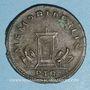 Münzen Constantin I (307-337). Follis. Trèves, 1ère officine, 307-310. R/: autel