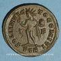 Münzen Constantin I (307-337). Follis. Trèves, 1ère officine. 310-313. R/: le Soleil